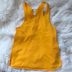 American apparel Golden tank top